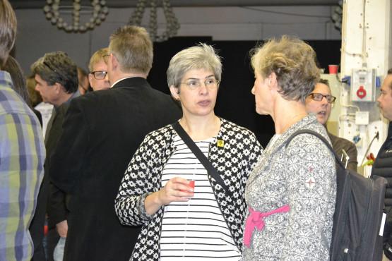 Erika Lagerbielke (formgivare) och Maria Agestam (Regionförbundet)