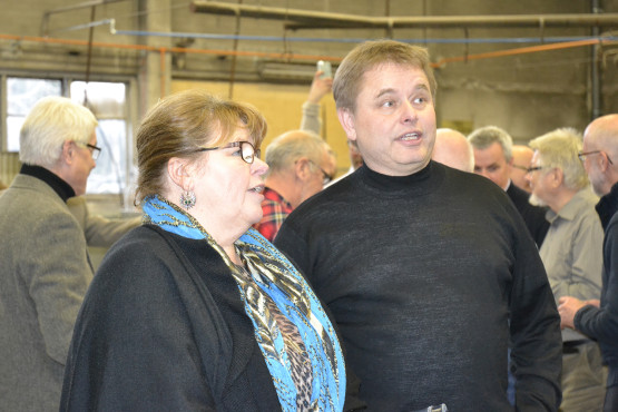 Jeanette Madeling (Nybro kommun) och Ole Victor (Linnéuniversitetet)